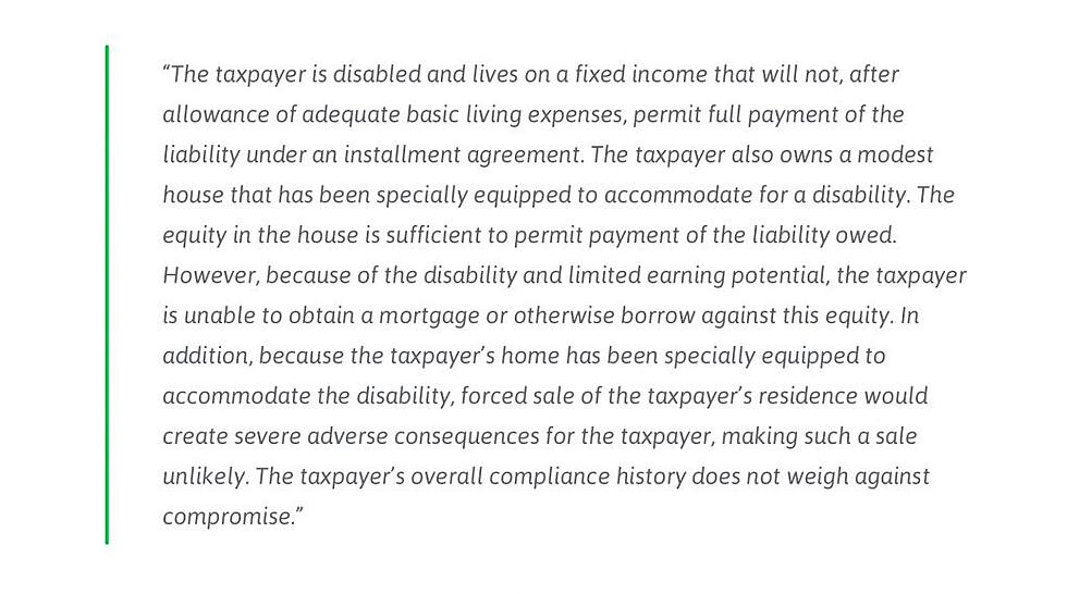 fixed income taxpayer