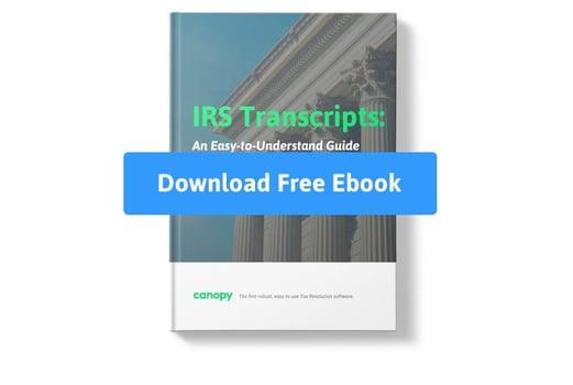 IRS Transcripts Ebook Image