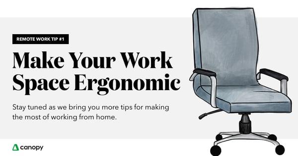 make-workspace-ergonomic
