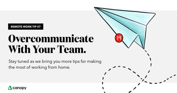 overcommunicate-team