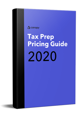 Tax Prep Pricing Guide 2020