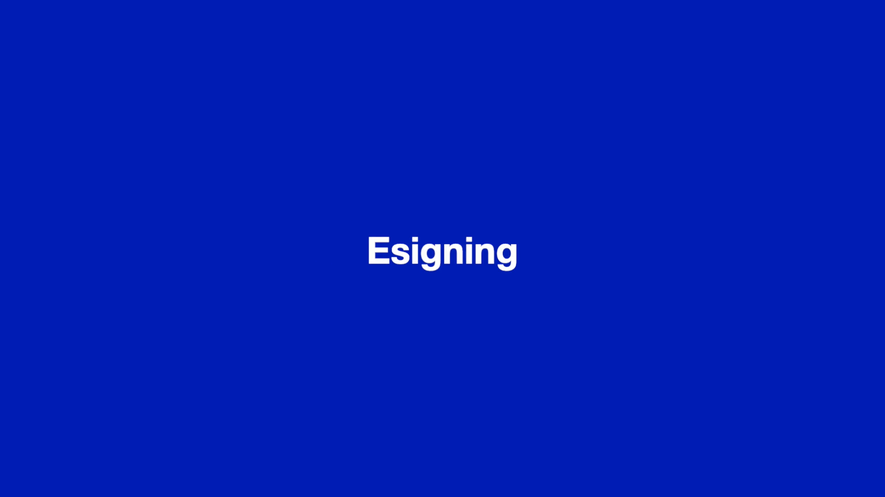 Esigning thumbnail