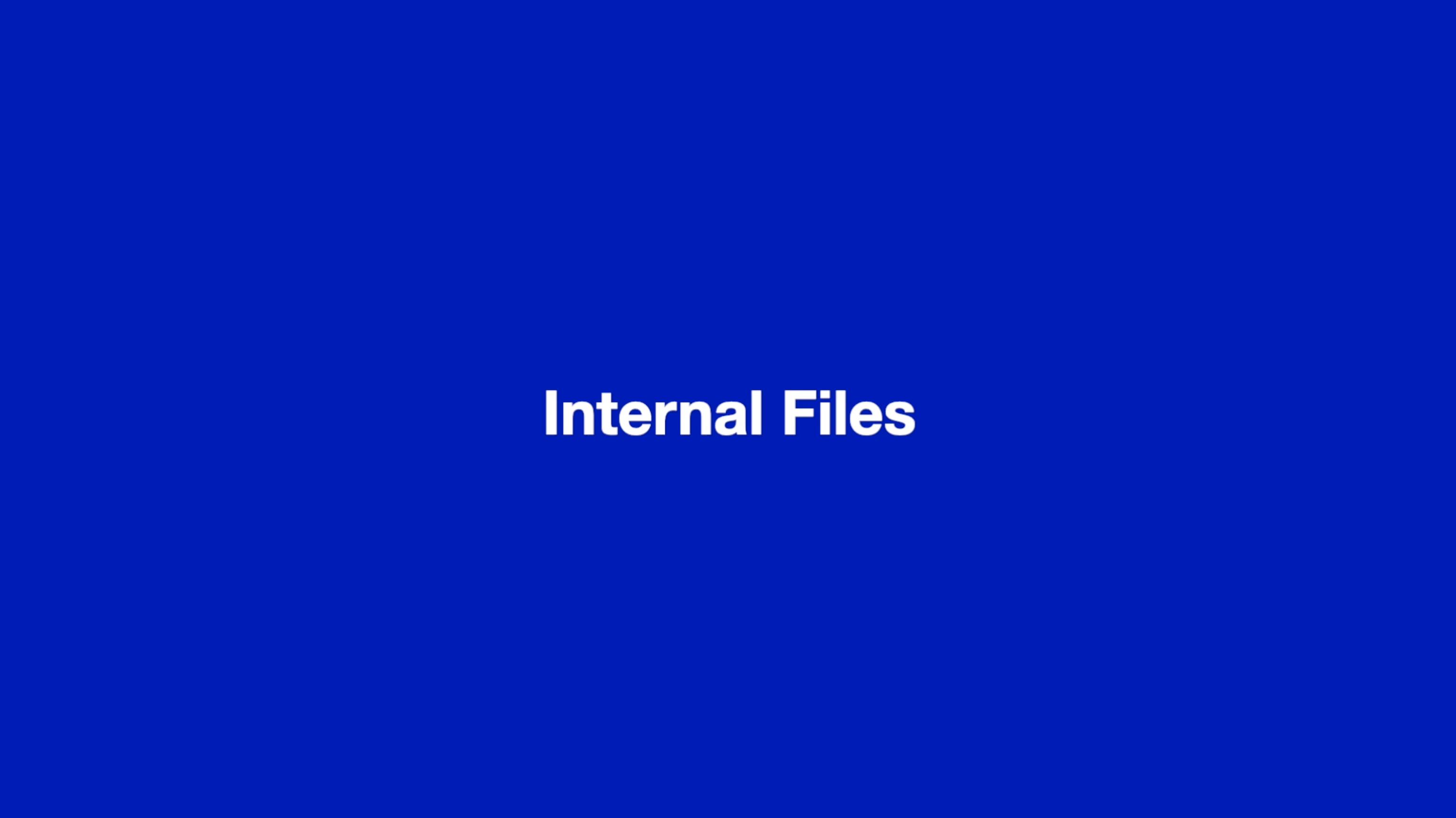 Internal files thumbnail