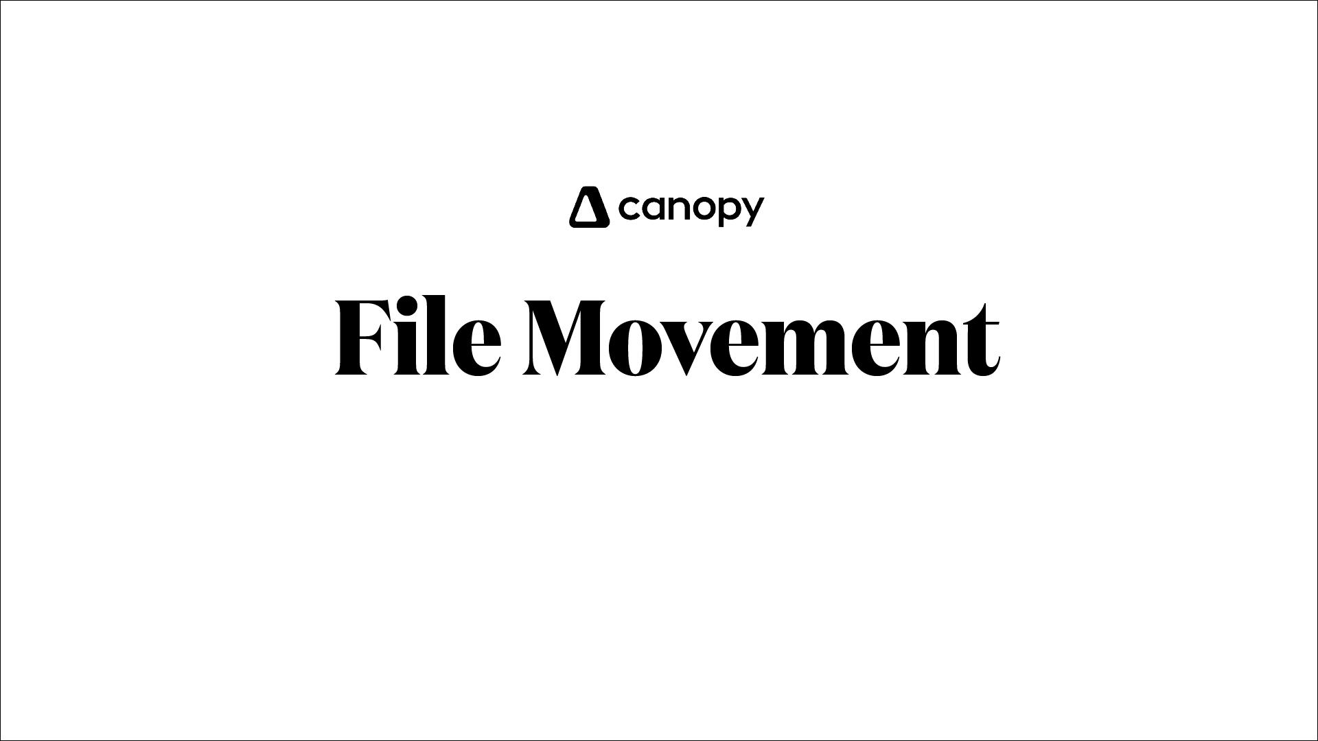 File Movement